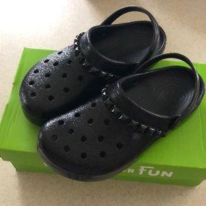 CROCS Shoes | Black Studded Crocs Clogs